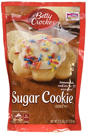 Betty Crocker Sugar Cookie Mix 17 5oz 2 Packages