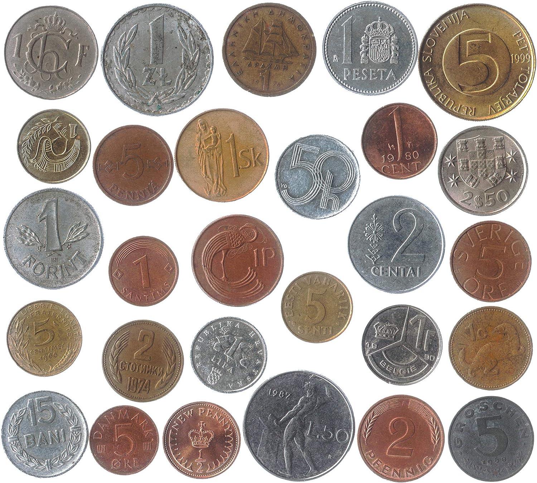 Birth Set in New EM Holder; 5 BU//MS Coins; Half Dollar 2019P Mint Set Penny