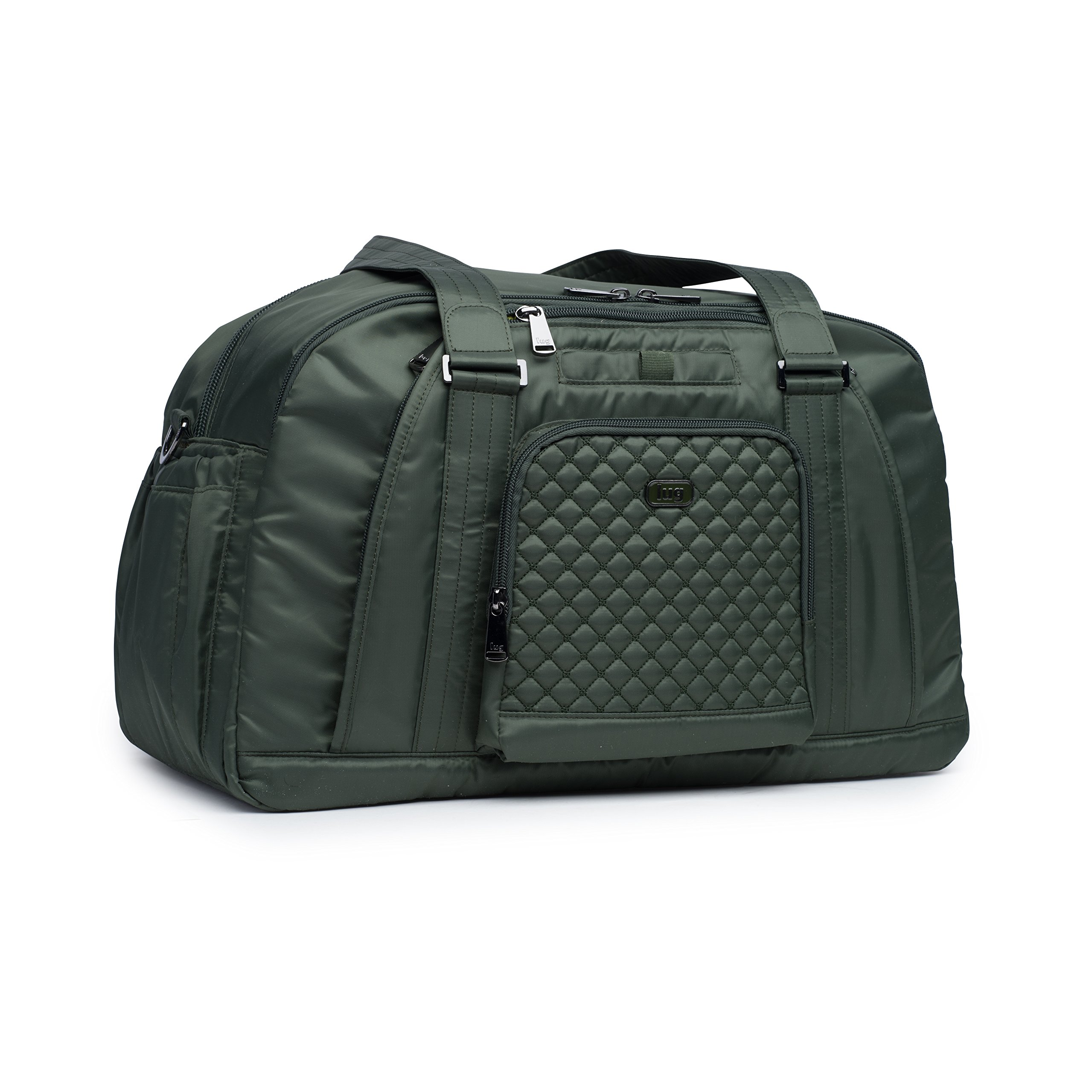 Lug Propeller Gym/Overnight Bag, Olive Green