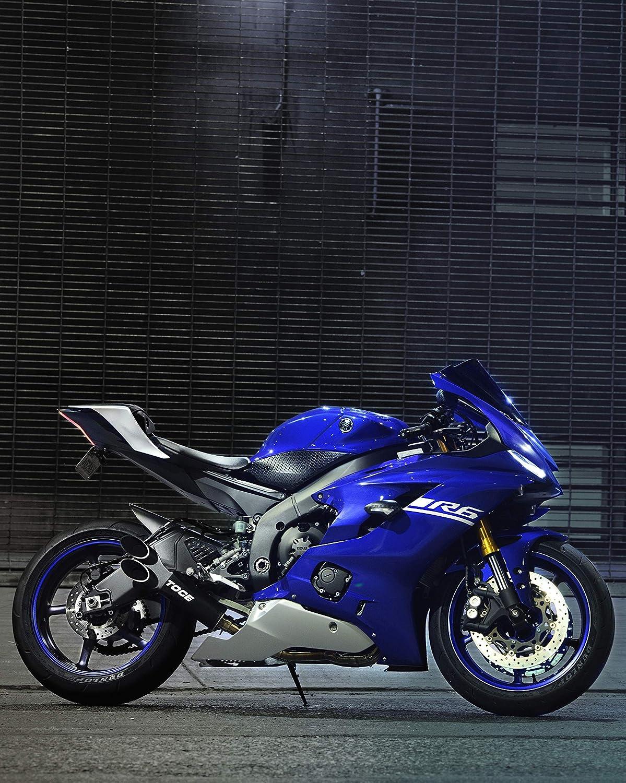 Toce 2006-2019 Yamaha R6 Razor Tip Full Exhaust System