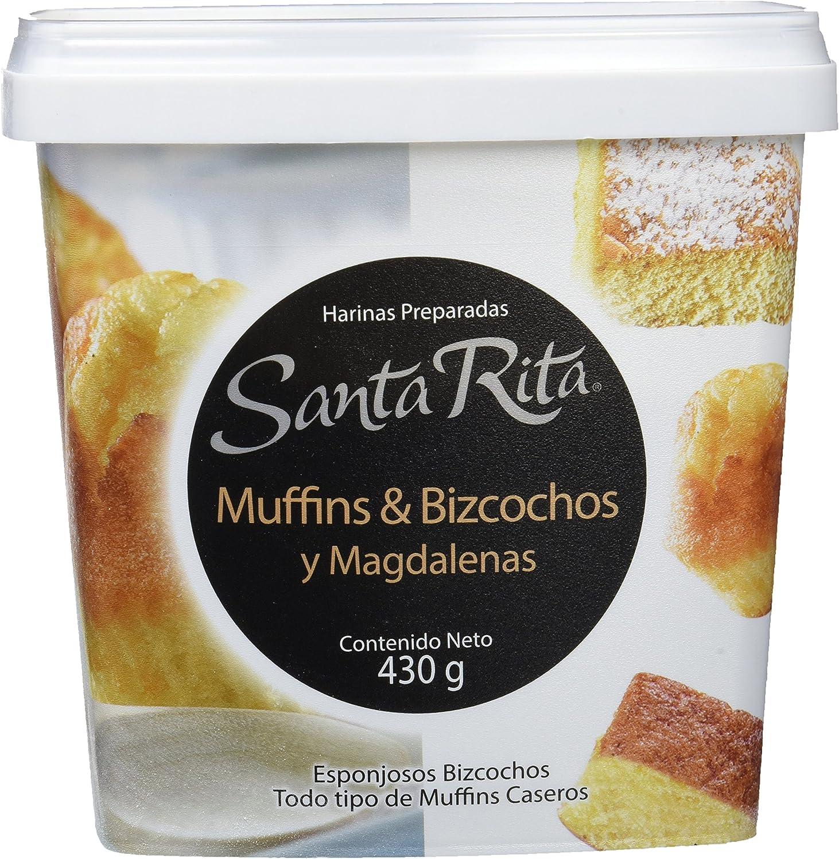 Santa Rita Harina para Muffins & Bizcochos y Magdalenas - 6 ...