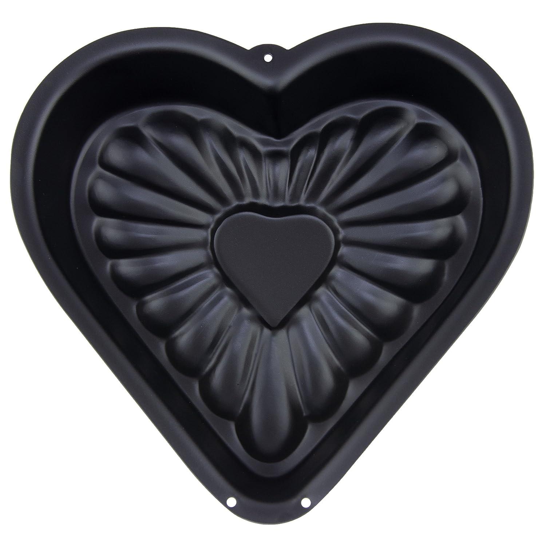 Molde para flanes en forma de corazón