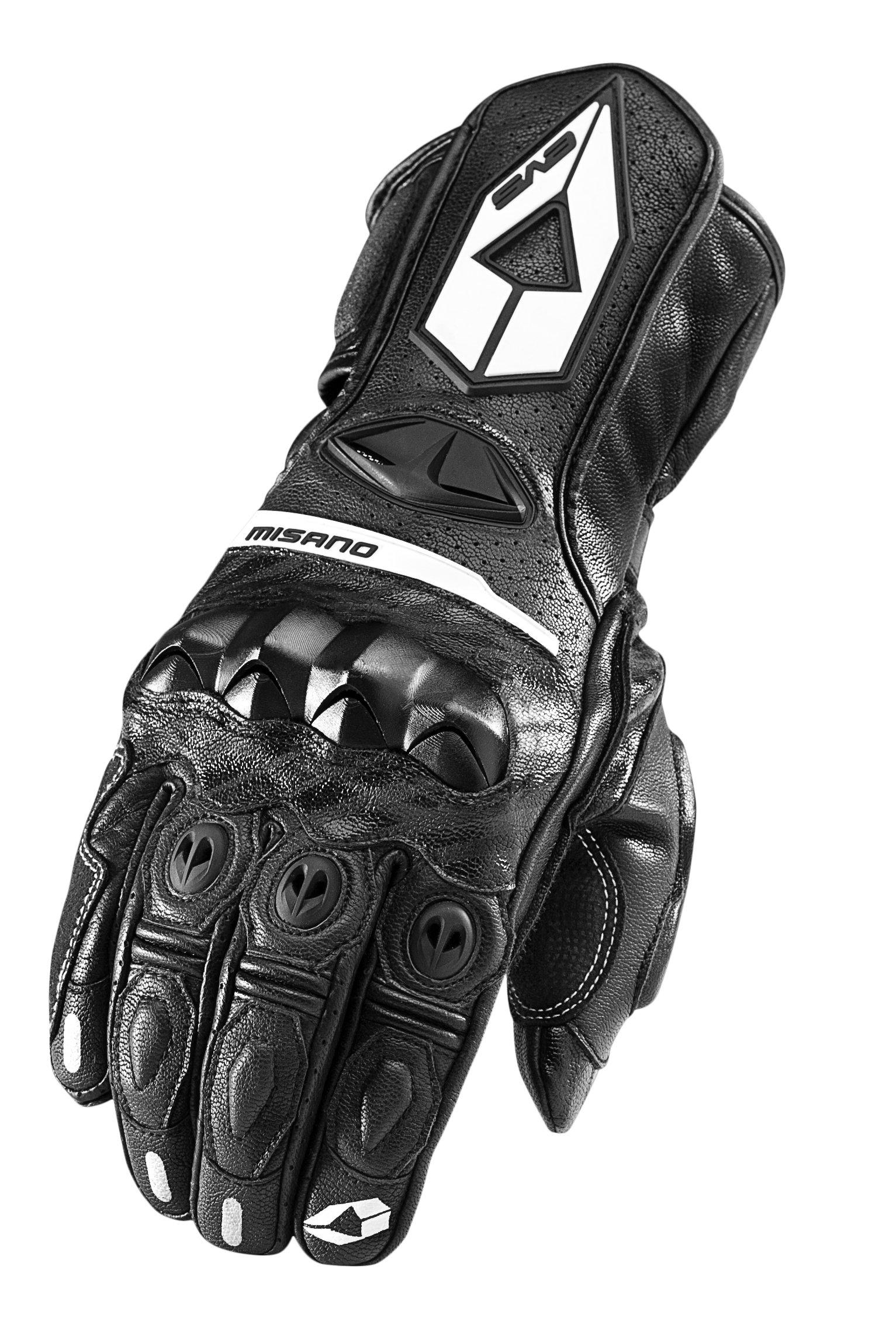 EVS Sports Misano Street Gloves (Black, Large)