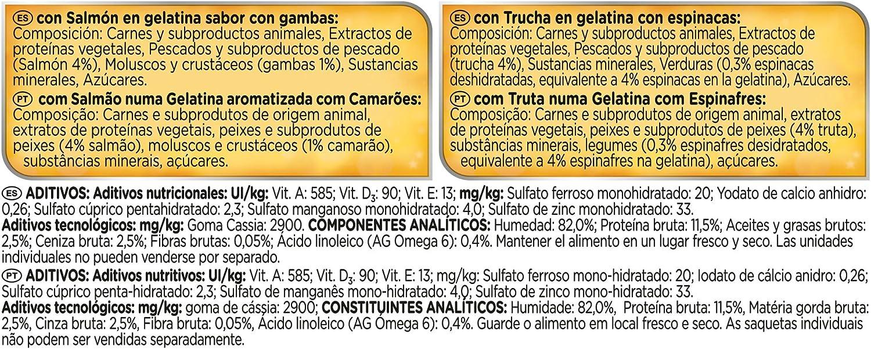 Felix Sensations Gelatinas Alimento Completo para Gatos ...