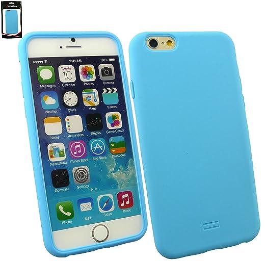 """53 opinioni per Emartbuy® Apple Iphone 6 6G 6S 4.7 """" Pollice Case Cover Custodia In Silicone Blu"""
