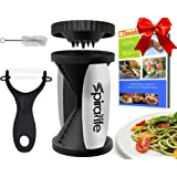 Amazon Price History for:The Original SpiraLife Vegetable Spiralizer - Spiral Vegetable Slicer - Zucchini Spaghetti Maker and Recipe eBook Package - 2 Pasta Styles in One
