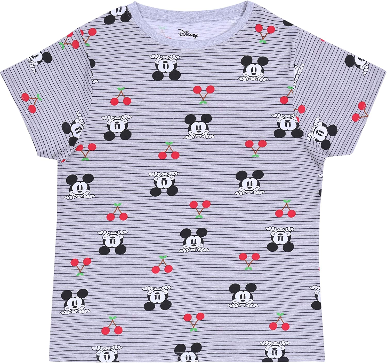Camiseta Gris t-Shirt Mickey Mouse Disney