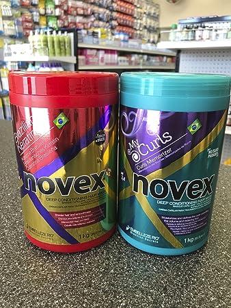 Novex Brazilian Keratin Deep Treatment, Novex Memorizing Curl Deep Treatment