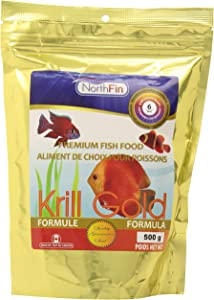 Northfin Food Krill Gold 6mm Pellet 500 Gram Package
