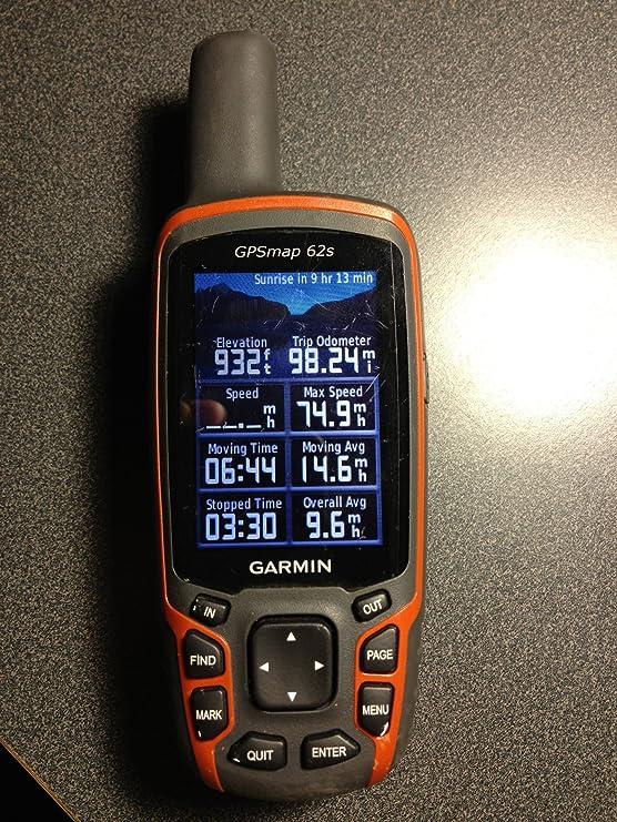 Garmin GPSMAP 62s - GPS de Mano, mapas de Europe [Importado]: Amazon.es: Deportes y aire libre