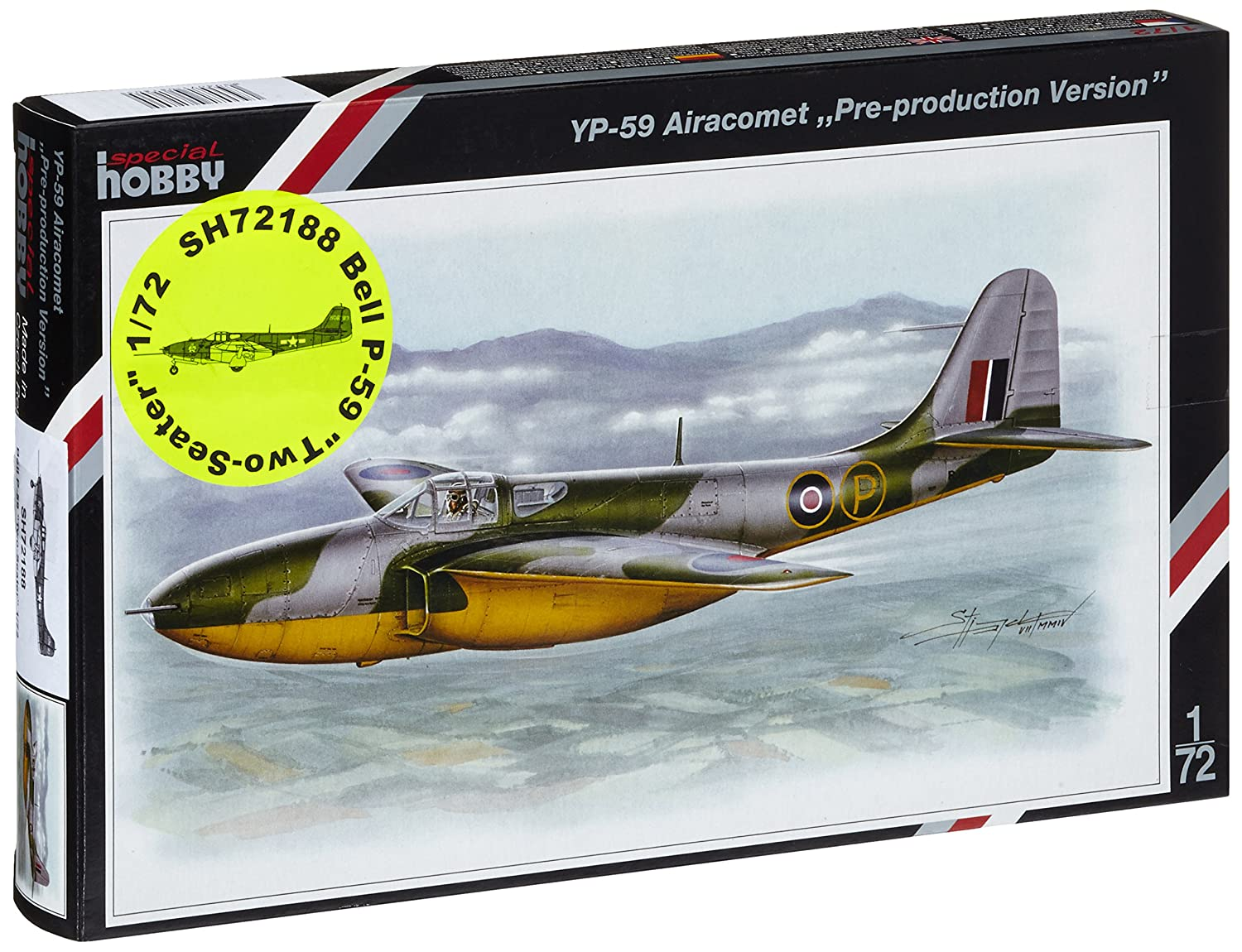 Special Hobby SH72188 – Model Kit 59 Aira Comet Double Seater Aircraft