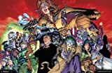 "Trends International DC Comics - The Legion of Doom - Villains Wall Poster, 22.375"" x 34"", Premium Unframed"