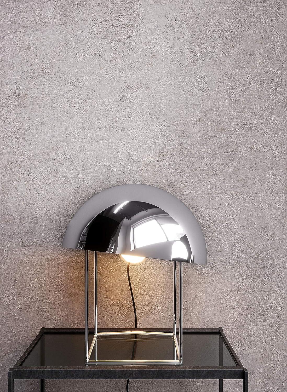 NEWROOM carta da parati cemento effetto grigio calcestruzzo moderna carta architetto industrial chic style bauhaus