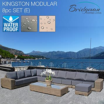 Bridgman Garden Furniture Bridgman garden furniture 8 piece kingston modular sofa set e with bridgman garden furniture 8 piece kingston modular sofa set e with waterproof leave out all year workwithnaturefo