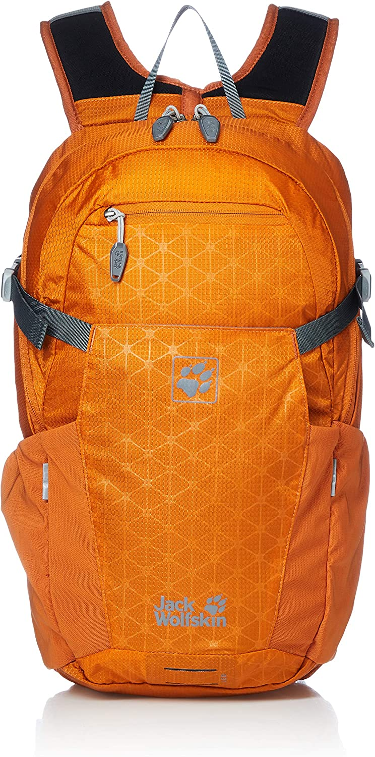 Jack Wolfskin Jack Wolfskin ALLEYCAT 18L Versatile Action Sports Backpack with rain Cover and Helmet Compartment, Prepared for Water Bladder from