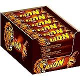 Nestle Lion Schoko-Riegel (mit Karamell, Milch-Schokolade) 24er Pack (24 x 42g) großpackung