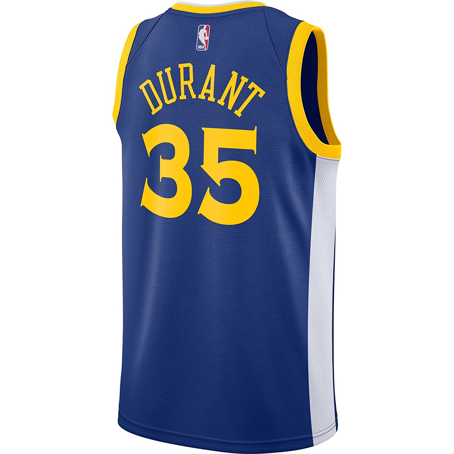 3430927a7c92 Amazon.com   Nike Kevin Durant Golden State Warriors NBA Men s Royal Blue  Road Icon Edition Swingman Connected Jersey   Sports   Outdoors
