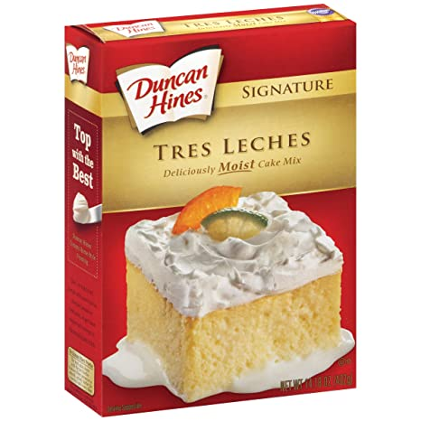 Amazon.com : Duncan Hines Signature Cake Mix, Tres Leches, 14.18 Ounce (Pack of 12) : Grocery & Gourmet Food