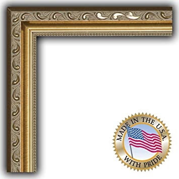 arttoframes 3x5 3 x 5 picture frame gold with beads 1625