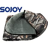 "Sojoy 12V Heated Travel Electric Blanket for Car, Truck,Boats or RV with High/Mid/Low Temp Control, Smart Timing (59""x40"") (Camouflage)"