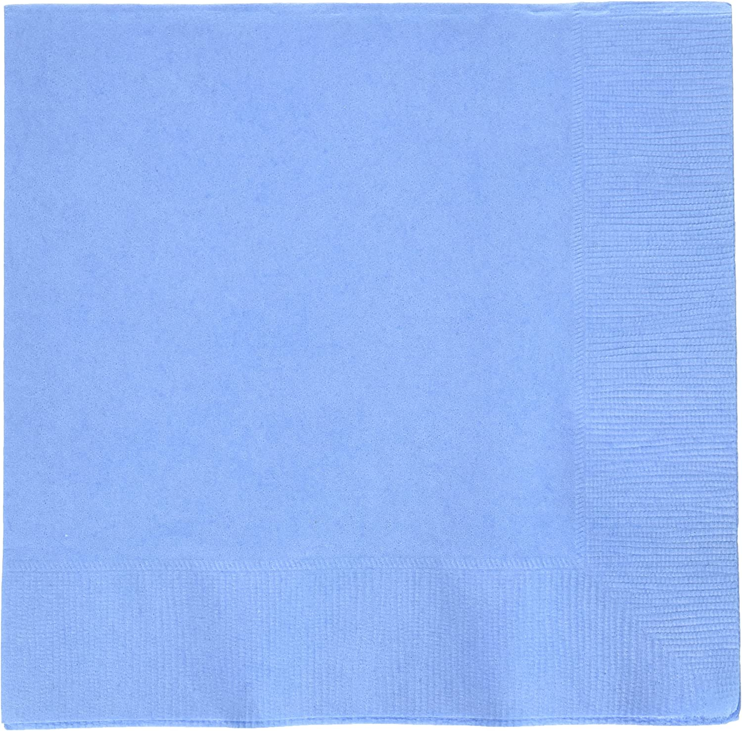 Amscan Pastel Blue 2-Ply Paper Luncheon Napkins, 50 Ct. | Party Tableware