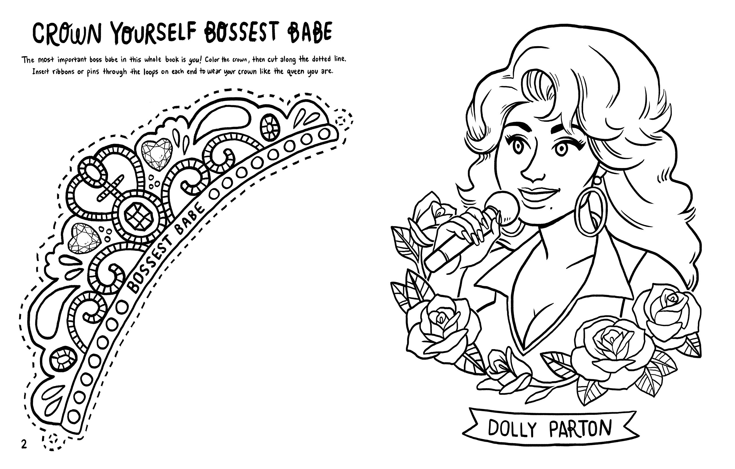 Amazon.com: Boss Babes: A Coloring and Activity Book for Grown-Ups ...
