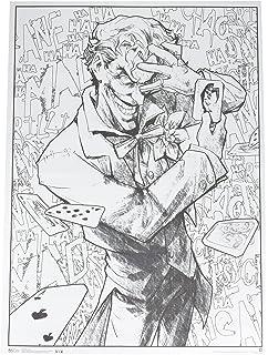 Amazon.com: DC Comics Harley Quinn Coloring Poster: Posters & Prints