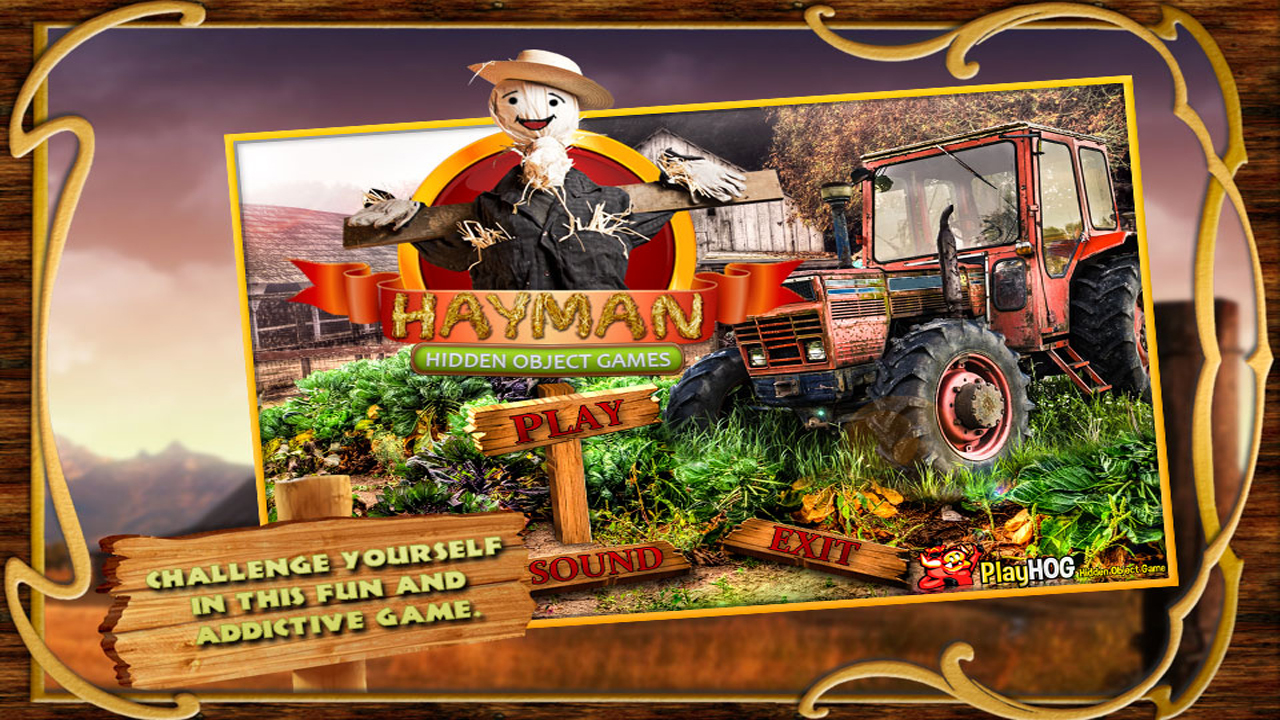 Free Hidden Object Game - Hay Man - Find 400 new hidden