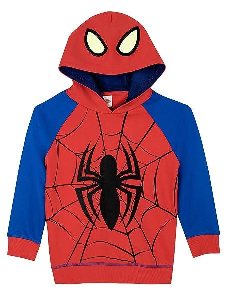 Spiderman El Hombre Araña - Sudadera con Capucha - Marvel Niños: Amazon.es: Ropa y accesorios