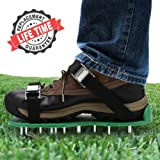 Yard Basics Aerator Shoes - Effective Heavy Duty