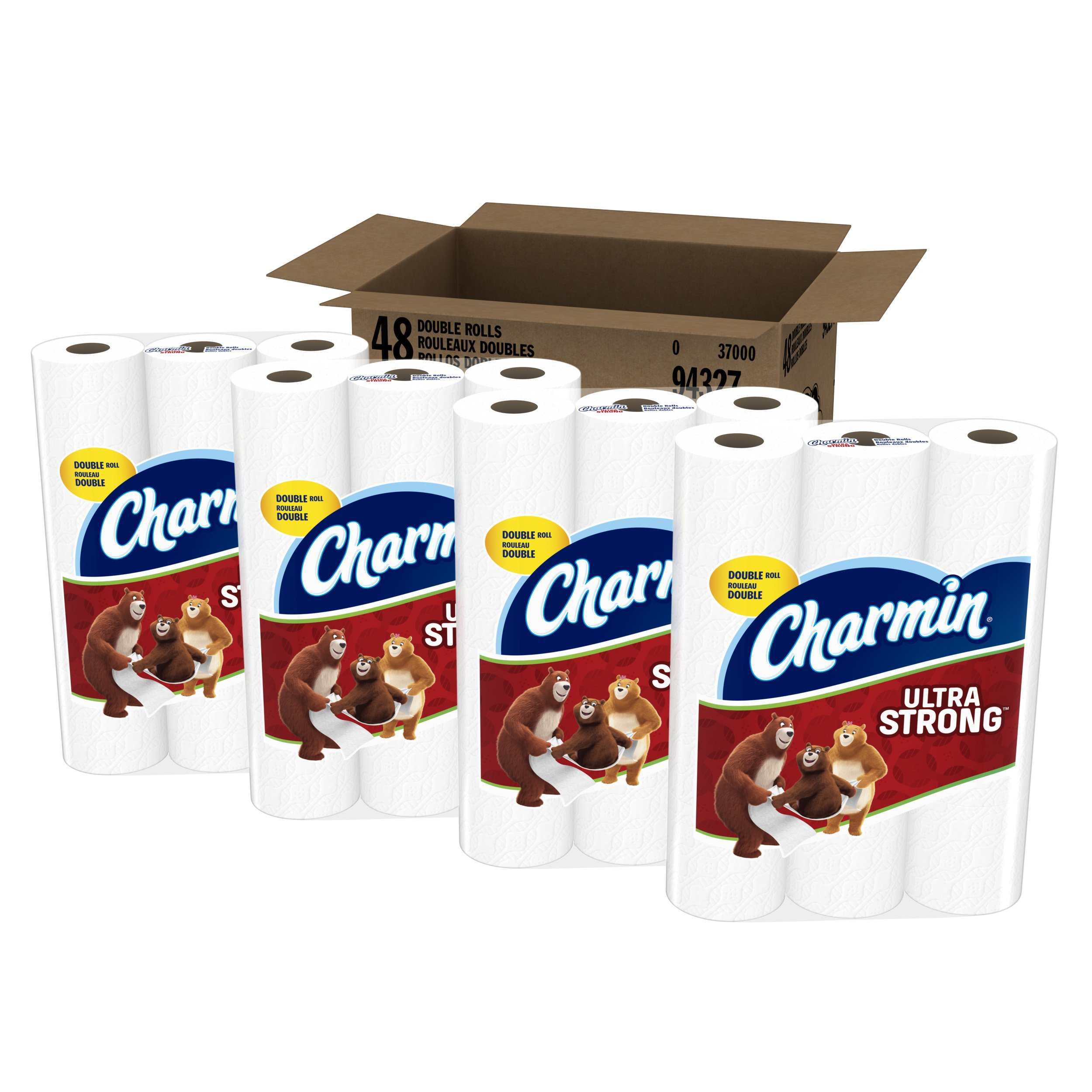 Charmin Ultra Strong Toilet Paper, 48 Count, Pack of 4 by Charmin