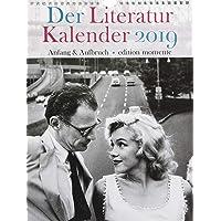Der Literatur Kalender 2019: Anfang & Aufbruch