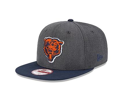 af9d25686a5 NFL Chicago Bears New Era Historic Heather Graphite 9FIFTY Original Fit Cap