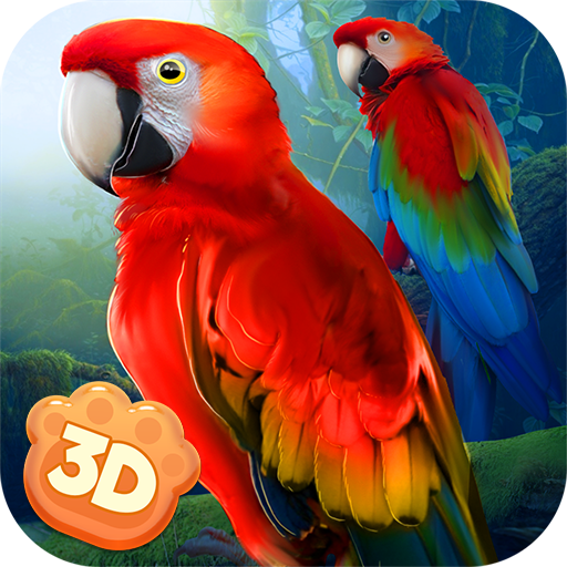 Macaw Parrot Simulator 3D: Clan of Birds Evolution | Animal Wildlife Survival Game (Macaw Species)