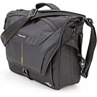 Vanguard Alta Rise 38 Expandable, Comfortable Messenger Bag, Black, (V243399)