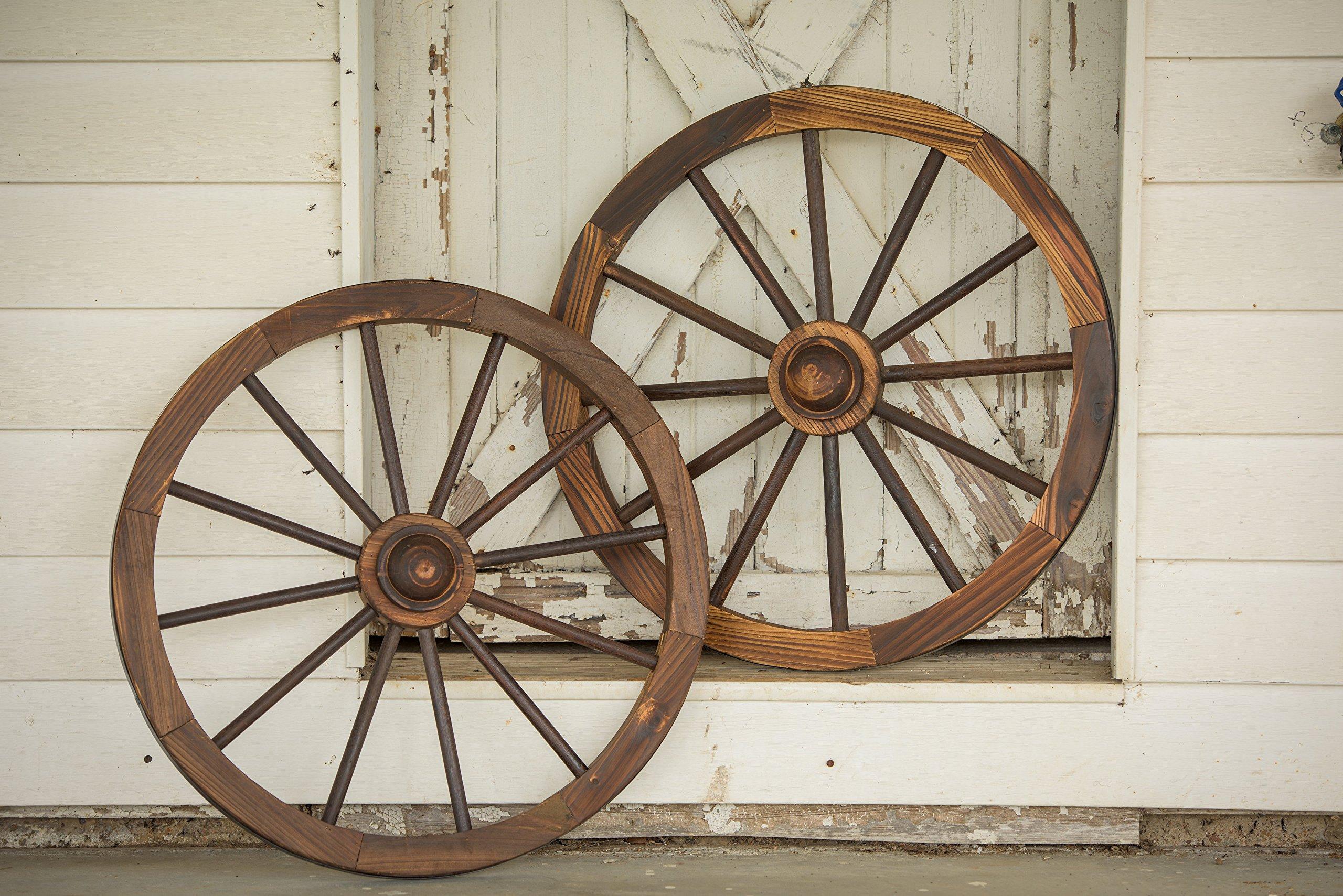 Leigh Country 36'' Wagon Wheel