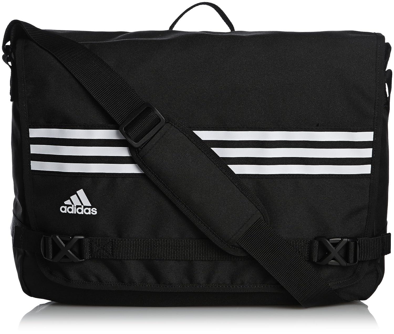 adidas 3-Stripes Sports Messenger Bag Black AB1866
