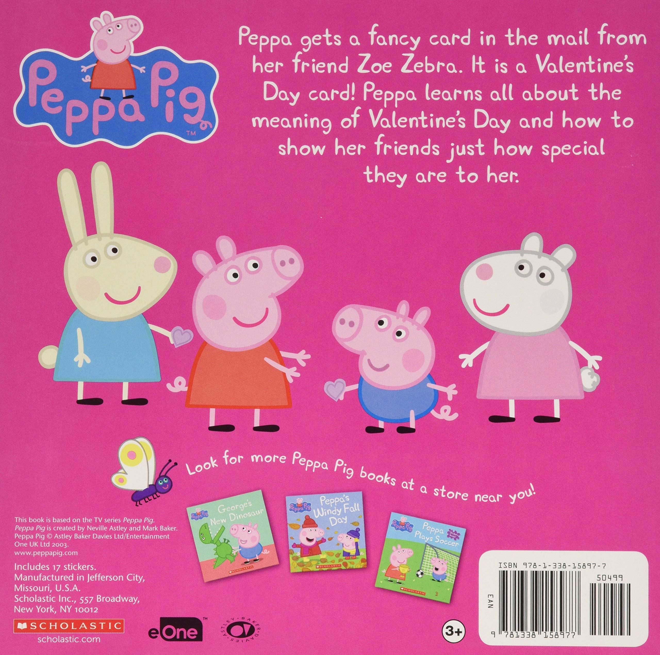 Peppa Pig Peppas Valentines Day
