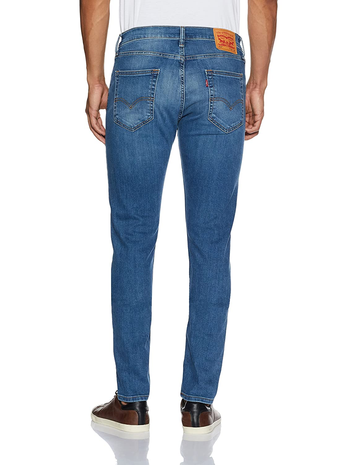 9a298825df9 Levi's Men's (512) Slim Tapered Fit Jeans (36087-0023_Blue_36): Amazon.in:  Clothing & Accessories