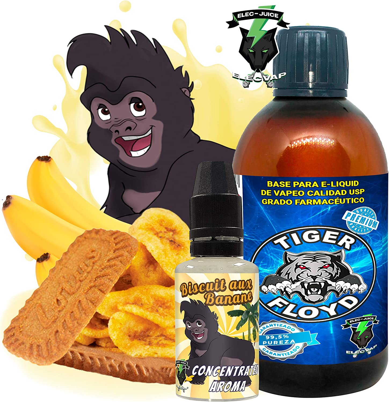 Kit Alquimia Vapeo   Biscuit Aux Banane Aroma Concentrado + Base Vapeo - 70VG/30PG - 100 ml   Sin Nicotina: 0mg   Para Vaper Cigarrillo Electronico   Sabor Flavour: Amazon.es: Salud y cuidado personal