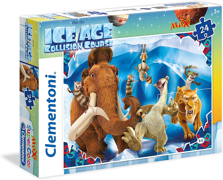 Clementoni - Maxi Puzzle de 24 Piezas Ice Age (24055)