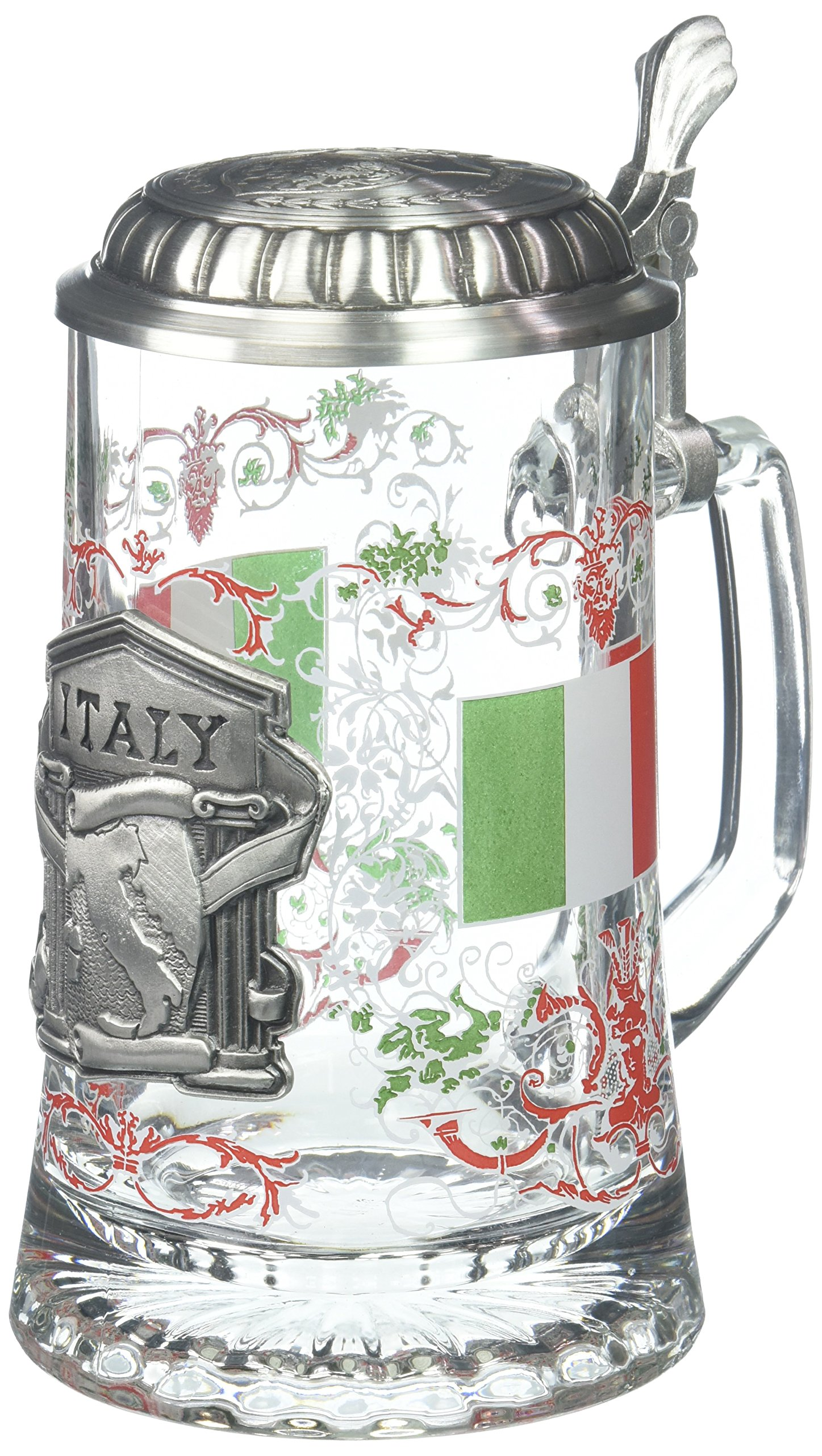 M. CORNELL IMPORTERS 5966 Glass Italy Stein
