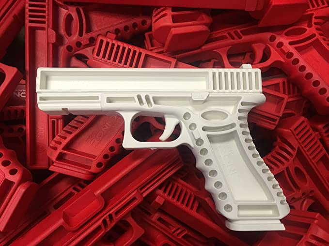 GARRET MACHINE Plastic Inert Glock Training Pistol