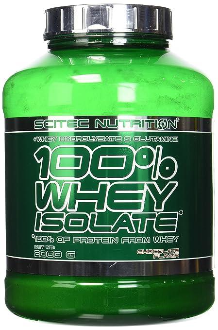 e75505e11 Scitec Nutrition 100% Whey Isolate Suplemento Nutricional de Proteinas con  Sabor de Chocolate