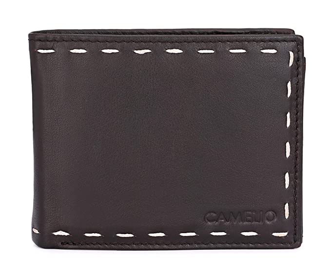 Camelio Brown Men's Wallet (CAM-BL-048)