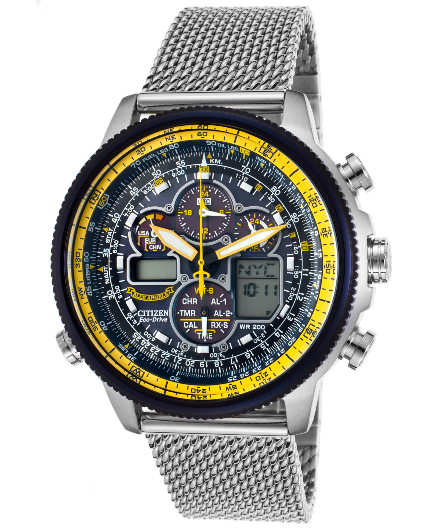 Citizen Men's Eco-Drive Blue Angels Navihawk A-T Watch