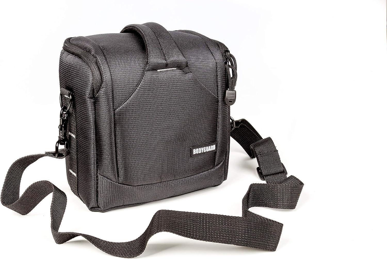 z.B 16cm Gesammth/öhe Nikon D3500 D5300 D5600 D7200 D7500 Bodyguard UNO SLR S  kleine Kameratasche f/ür Spiegelreflexkameras mit Standardobjektiv bis 55mm Canon EOS 200D 77D 800D 2000D 4000D