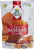 24 Mantra Organic Sambar Powder, 100g