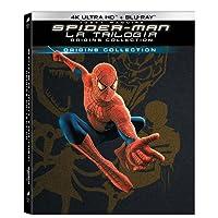 Spider-Man Origins Collection (6 Blu-Ray 4K Ultra HD + Blu-Ray) con Digibook