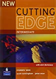 NEW CUTTING EDGE INTERMEDIATE: STUDENT BOOK+MINIDICTIONARY